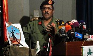 The spokesman for the Libyan National Army General Ahmed al-Mesmari - file photo