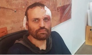 Egypt's most wanted terrorist Hesham Ashmawy after being arrested in Derna, Libya on October 8 - screenshot of extra news channel/YouTube
