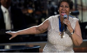 FILE PHOTO: BET honoree singer Aretha Franklin performs onstage at BET Honors 2014 at Warner Theatre in Washington on February 8, 2014. REUTERS/Jose Luis Magana/File Photo