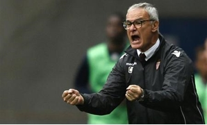 Ranieri reacts during their French Ligue 1 match againsts FC Sochaux at the Auguste Bonal stadium in Sochaux October 20, 2013. REUTERS/Vincent Kessler
