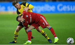 Franck Ribery allegedly slapped television pundit Patrick Guillou following Bayern Munich's 3-2 defeat to Borussia Dortmund on Saturday.