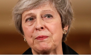 Britain's Prime Minister Theresa May holds a news conference at Downing Street in London, Britain November 15, 2018. Matt Dunham/Pool via Reuters