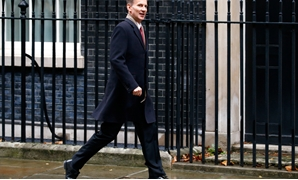 Britain's Foreign Secretary Jeremy Hunt arrives in Downing Street in London, Britain, November 28, 2018. REUTERS/Henry Nicholls