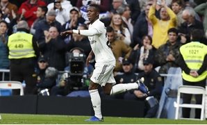 Vinicius Jr celebrates scoring for Real Madrid, Egypt Today