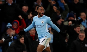 November 29, 2017 Manchester City's Raheem Sterling celebrates scoring their second goal Action Images via Reuters/Lee Smith