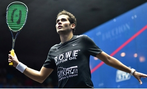 File- Karim Abdel Gawad, photo courtesy of Squash Site