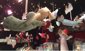 Christmas toys for children at Bonn Christmas Market, Germany- Egypt Today/Samar Samir