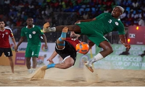 File- Egypt host Nigeria at the semi-finals