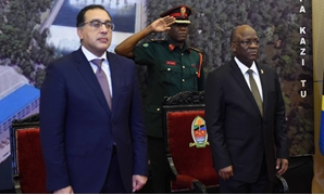 Egypt's Prime Minister attended with the Tanzanian president the signing ceremony to build Stiegler's Gorge dam in Tanzania – Egypt Today/Soliman al-Eteify