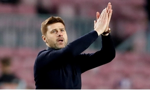 FILE PHOTO: Tottenham manager Mauricio Pochettino at Camp Nou, Barcelona, Spain - December 11, 2018. Action Images via Reuters/Paul Childs/File Photo