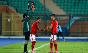 File- Moamen Zakaria replaced Ahmed El Sheikh against Noggom FC