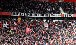 Manchester United v West Ham United - FA Cup Quarter Final - Old Trafford - 13/3/16 Manchester United fans Action Images via Reuters