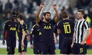 Soccer Football - Champions League - JuventusvsTottenham Hotspur - Allianz Stadium, Turin, Italy - February 13, 2018 Tottenham'sMousaDembele acknowledges fans after the match Action Images via Reuters/Paul Childs