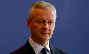FILE PHOTO - French Finance Minister Bruno Le Maire attends a news conference about a report on French economy at the Bercy Finance ministry in Paris - Reuters