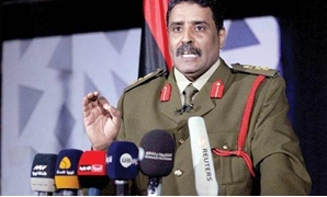 File - LNA spokesperson Ahmed Al-Mesmari- Press photo