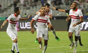 Zamalek Players - FILE
