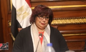 FILE - Min. of Culture Inas Abdel Dayem.