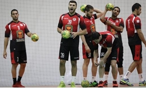 FILE - Egyptian Handball team