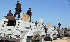North Sinai security forces - Press photo
