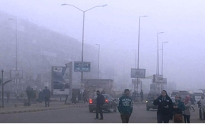 Heavy fog hits Egypt, ports - Press Photo