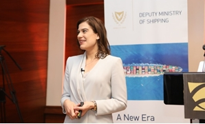 Cypriot Deputy Minister of Shipping Natasa Pilides - CC