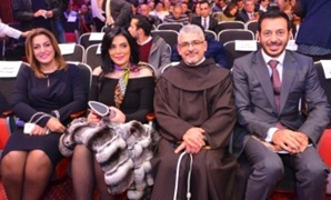 Horreya Farghaly, Mostafa Shaaban and  Pope Botrus Danial - Egypt Today.