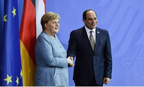 FILE: Chancellor Merkel has welcomed Sisi's visit to Germany, affirming her country's keenness to boost relations with Egypt on various fields