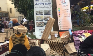 For the first time, mute-deaf students participated in the third Zamalek Art Festival held at the Faculty of Fine Arts in the upscale district of Zamalek, Cairo