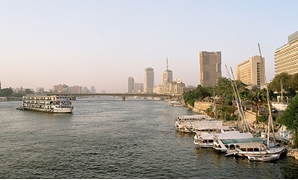 The Nile River, 6TH October Bridge, Cairo, Egypt, October 2004 –Cc via Wikimedia Commons