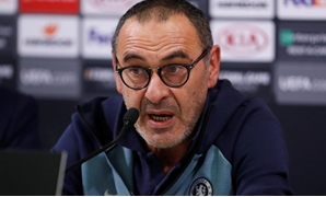 December 12, 2018 Chelsea manager Maurizio Sarri during the press conference Action Images via Reuters/Matthew Childs