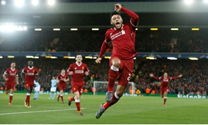 April 4, 2018 Liverpool's Alex Oxlade-Chamberlain celebrates scoring their second goal REUTERS/Andrew Yates