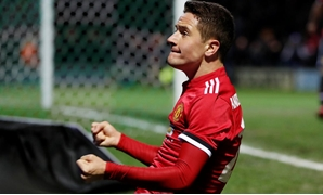 January 26, 2018 Manchester United's Ander Herrera celebrates scoring their second goal Action Images via Reuters/Paul Childs