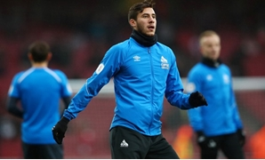 Soccer Football - Premier League - Arsenal v Huddersfield Town - Emirates Stadium, London, Britain - December 8, 2018 Huddersfield Town's Ramadan Sobhi during the warm up before the match REUTERS/Hannah McKay