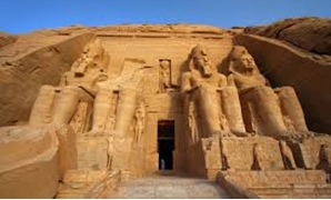 FILE - Abu Simbel Temple