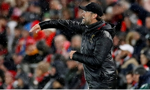 Soccer Football - Champions League - Round of 16 First Leg - Liverpool v Bayern Munich - Anfield, Liverpool, Britain - February 19, 2019 Liverpool manager Juergen Klopp during the match Action Images via Reuters/Carl Recine TPX IMAGES OF THE DAY