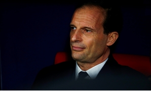 Soccer Football - Champions League - Round of 16 First Leg - Atletico Madrid v Juventus - Wanda Metropolitano, Madrid, Spain - February 20, 2019 Juventus coach Massimiliano Allegri before the match REUTERS/Juan Medina