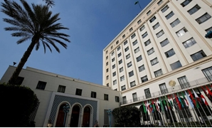 The Arab League Headquarters, where the 4th EU-League of Arab States Ministerial meeting between Arab and European foreign ministers, will be held. (REUTERS/Amr Abdallah Dalsh/File Photo)