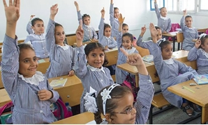 Students in a classroom at the Jabalia refugee camp in northern Gaza Strip. UN Photo/Eskinder Debebe
