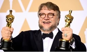 "Filmmaker Guillermo del Toro, winner of the Best Director and Best Picture awards for ""The Shape of Water,"" poses in the press room during the 90th Annual Academy Awards in Hollywood on March 4, 2018 GETTY IMAGES NORTH AMERICA/AFP"