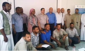Members of the workshop with head of EIECP Yousria Hamed