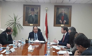 Minister of Finance Mohamed Ma'it during the meeting- Press photo