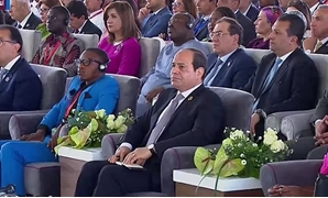 President Sisi during the 1st Arab and African Youth Forum – Still image