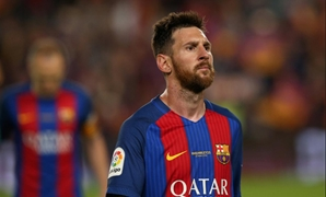 Spanish Liga Santander - Nou Camp, Barcelona, Spain - 21/5/17Barcelona's Lionel Messi looks dejected after the match Reuters / Albert Gea
