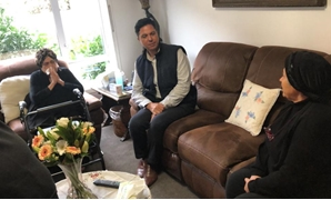 Egypt's ambassador in New Zealand visited the families of the Egyptian expatriates killed in the terrorist attack in Christchurch – press photo