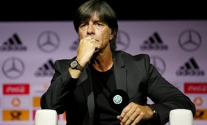 German Football Museum, Dortmund, Germany - May 15, 2018 Germany coach Joachim Loew during the press conference REUTERS/Leon Kuegeler