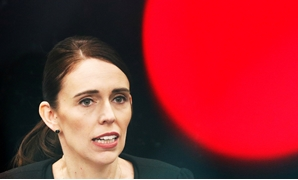 FILE PHOTO: New Zealand's Prime Minister Jacinda Ardern attends a news conference after meeting with first responders who were at the scene of the Christchurch mosque shooting, in Christchurch, New Zealand March 20, 2019. REUTERS/Edgar Su/File Photo