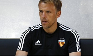 Football - FC Cologne v Valencia CF - Colonia Cup Pre Season Friendly Tournament - RheinEnergie Stadium, Cologne, Germany - 2/8/15 Phil Neville before the game Mandatory Credit: Action Images / Peter Cziborra