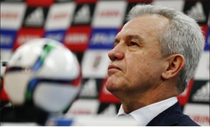 Japan's head coach Javier Aguirre attends a news conference in Tokyo December 15, 2014. REUTERS/Thomas Peter