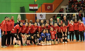 File- Al-Ahly volleyball women's team