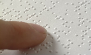 Braille writing system - Creative Commons via Wikimedia